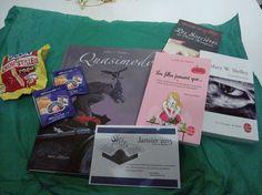 Une box de Janvier  Thème : Contes et légendes Frankenstein, Cover, Books, January, Thinking About You, Libros, Book, Book Illustrations, Libri