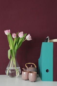 Edgar 027 - Kreideemulsion – Kreidefarbe - lila Wand und Möbelfarbe