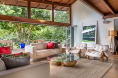 Gaia - A perfect combination between a Modern yet Rustic home, filled with outstanding art, high end furniture and a beautiful surrounding nature, all just a few steps away from the Lagoa da Conceicao at Florianopolis - Brazil
