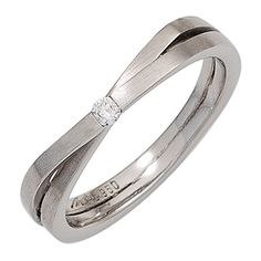 Dreambase Damen-Ring mattiert Platin 1 Diamant 0.05 ct. 5... https://www.amazon.de/dp/B00N5BWQLW/?m=A37R2BYHN7XPNV