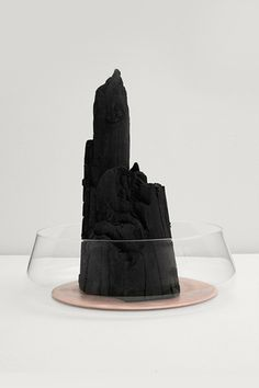 Charcoal objects by Formafantasma