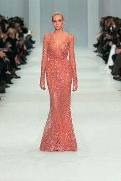 EXCELLENCE! (with the bodice not as sheer & the v not as deep tho) elie saab spring/summer 2012