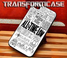 All Time Low Inspired - iPhone 4 4s 5 5s 5c Samsung Galaxy S2 S3 S4 S5 iPod 2 4 5 HTC One X Note 2 3 Blackberry Z10 Q10