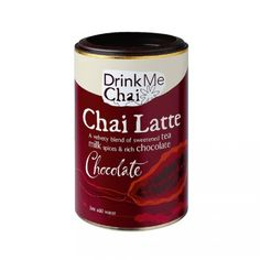 Chai Latte Drink me Chai Chocolate