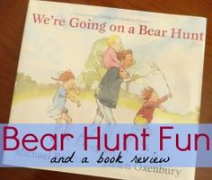 Literature #1. Read We're Going on a Bear Hunt with students. Then extend the book by going on your own bear hunt either in the classroom or outside. After reenacting the story or creating your own, have students make a map of the trail you took to find the bear. From: A Mom With A Lesson Plan Blog