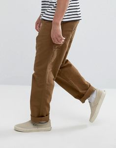 33fa5bad53 Carhartt WIP Single Knee Cargo Pants - Brown Carhartt Wip