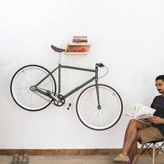 Oak and Steel Minimalist Bicycle Bike Wall   Etsy Bike Wall Hooks, Wall Mount Bike Rack, Bike Shelf, Wooden Wall Hooks, Wooden Walls, Wall Hanger, Bicycle Hanger, Range Velo, Vertical Bike