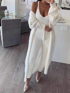 Ideas Winter White Outfit to Look Fresh Classy Outfits, Fall Outfits, Casual Outfits, Work Outfits, Summer Outfits, Cute Lounge Outfits, Fashion Mode, Fashion Outfits, Fashion 2016
