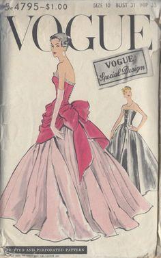 Vintage wedding dress patterns! Amazing