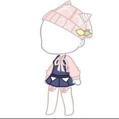 Manga Clothes, Drawing Anime Clothes, Anime Girl Drawings, Cute Drawings, Club Hairstyles, Clothing Sketches, Cute Anime Chibi, Club Design, Animal Sketches