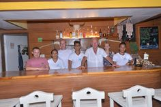 The staff at Lanas Beach Resort are waiting to serve you