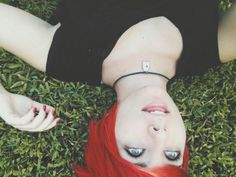 I can't decide what picture I like most of my red hair @sleepintheocean
