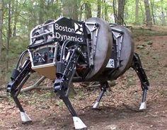 Desarrolla DARPA a perro robot (Video) - Vanguardia