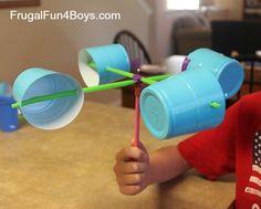 Make an Anemometer to Observe Wind Speed / costruire un anemometro per scoprire la velocità del vento