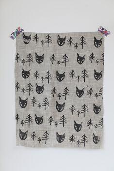 Hand printed fabric - j u n k a h o l i q u e - Block print