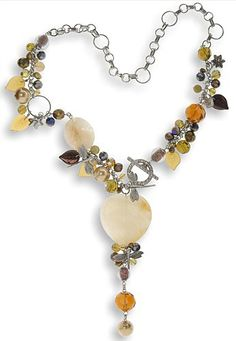 Principles of Design Balance in Making Handcrafted Jewelry - Lovely necklace example!