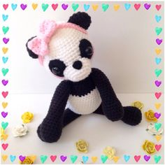 Hey, I found this really awesome Etsy listing at https://www.etsy.com/listing/289780045/amigurumi-panda-amigurumi-bear-crochet