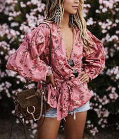 23c4c03b3f floral dress look for festivals Boho Style, Gypsy Style, Diy Divat, Outfit  Szetek