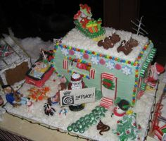 airstream gingerbread house