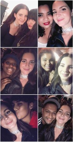 Oct.23, 2017: Lana Del Rey with fans at her New York City show #LDR