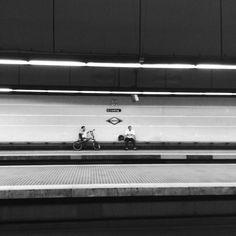Muntaner FGC railway station, Barcelona