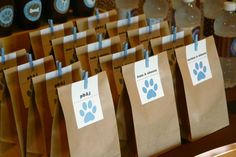 Puppy Party Dog - Doggy Bag Favors