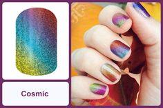 COSMIC Jamberry Nail Wrap #cosmicjn