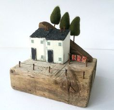 Treetops! Driftwood houses Driftwood cottages Natural Home Decor, Ornaments…