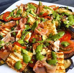 Healthy Food Choices, Healthy Salads, Healthy Recipes, Good Food, Yummy Food, Work Meals, Tofu, Summer Recipes, Vegan