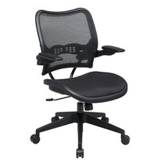 @Overstock - Bring some supportive style into your office with this deluxe airgrid-backed cantilever arm office chair. With several seat adjustments, you can ensure that this chair will provide you with support and comfort no matter how long you work.http://www.overstock.com/Office-Supplies/Office-Star-Deluxe-AirGrid-Seat-and-Back-Cantilever-Arms-Office-Chair/5764758/product.html?CID=214117 $199.99