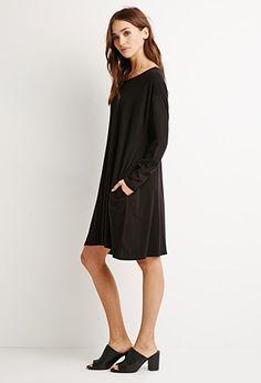 Dropped Shoulder Trapeze Dress | Forever 21 - 2000155362