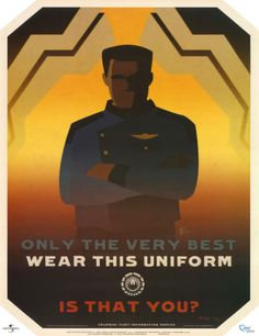 Battlestar Galactica Only the Very Best Wear this Uniform TV Poster Print Television Poster - 43 x 56 cm Steve Thomas, Head And Heart, Fight The Good Fight, Battlestar Galactica, Best Wear, Motivational Posters, Cool Posters, Science Fiction, Tv Shows