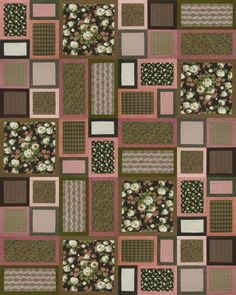 Chocolate Quilt  Such a beautiful design.  Thanks for sharing.  I have put it on the long list of want to make.