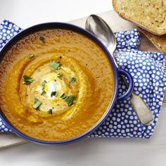 Spicy Carrot Soup -