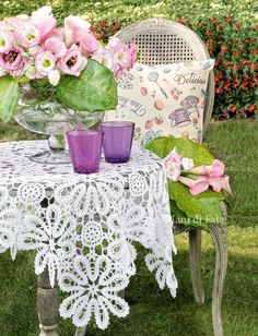Bobbin Lace Patterns, Baby Knitting Patterns, Bruges Lace, Crochet Furniture, Crochet Table Runner, Beautiful Crochet, Doilies, Table Runners, Knit Crochet