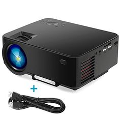 2017 Projector, Tronfy TP60 Upgraded Multimedia Home Theater Projector, Portable Mini LCD LED Video Projector Support 1080P for Game TV iPhone Android Smartphone Laptop with Free HDMI Cable - Black -  https://www.wahmmo.com/2017-projector-tronfy-tp60-upgraded-multimedia-home-theater-projector-portable-mini-lcd-led-video-projector-support-1080p-for-game-tv-iphone-android-smartphone-laptop-with-free-hdmi-cable-black/ -  - WAHMMO