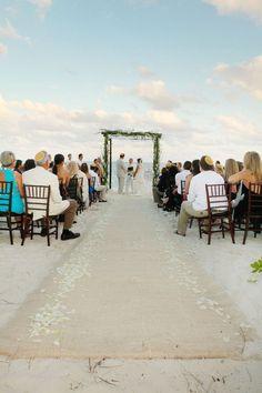 Puerto Morelos beach ceremony (Mexico)
