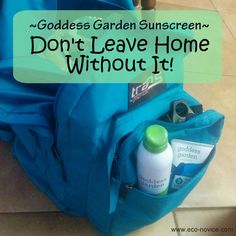 Protect Your Family with Safe Sunscreen by Goddess Garden {Review & Giveaway} ~ Eco-novice #SunSafeGoddess @greensisterhood