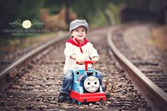 Train photo shoot or we could do it with his helicopter on a road/ run way! Thomas Birthday Parties, Thomas The Train Birthday Party, Trains Birthday Party, Train Party, 3rd Birthday, Birthday Ideas, Train Pictures, Boy Pictures, River Pictures
