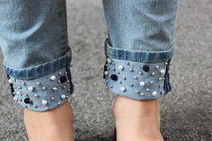 Jeans customizado 1