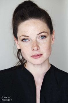 Rebecca Ferguson PAC loves her strength and her freckles