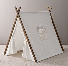 Restoration Hardware Baby & Child's new A-Frame Tent is less invasive than…