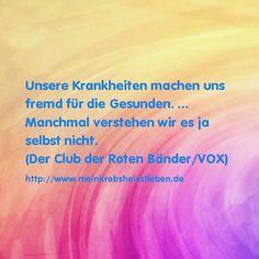 """seelentief: Passende Zitate aus """"Club der roten Bänder"""""""