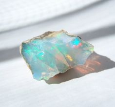 Opals in general but especially Ethiopian opals are just magical! source: The Gifts Of Life