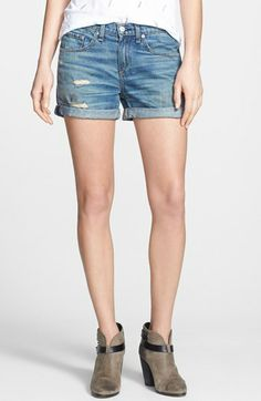 rag & bone/JEAN 'The Boyfriend' Denim Shorts (Trestles) available at #Nordstrom