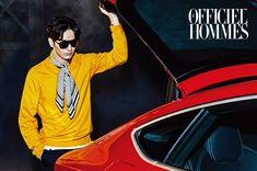 Lee Jin Wook - L'Officiel Hommes Korea June '15 Lee Jin Wook, Drama Film, Kimchi, Spreads, Third, June, Couch, Virgo, Korean