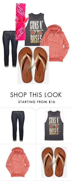 """""""Day at the beach"""" by jkrebs ❤ liked on Polyvore featuring Dsquared2, Forever 21, Aéropostale, American Eagle Outfitters, Funky Bling, women's clothing, women, female, woman and misses"""