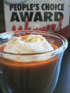 Caramelized Curried Carrot Soup with Coconut Milk Foam and Lime Leaf Powder - Soup's On 2015 Elgin-St. Thomas People's Choice Award Winner Our Little Farm CSA