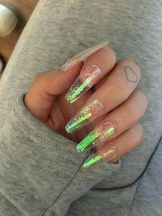 Why are stiletto nails so amazing? We have found the very Best Stiletto Nails for 2018 which you will find below. Having stiletto nails really makes you come off as creative and confident. Black Acrylic Nails, Summer Acrylic Nails, Nail Swag, Gorgeous Nails, Pretty Nails, Gel Nagel Design, Nail Effects, Jelly Nails, Fire Nails