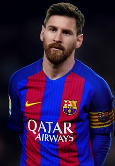 Lionel Messi looks on prior to the Copa del Rey quarter-final second leg match between FC Barcelona and Real Sociedad at Camp Nou on January 26, 2017 in Barcelona.